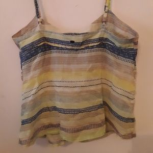 Tops - Stripped Tank Top